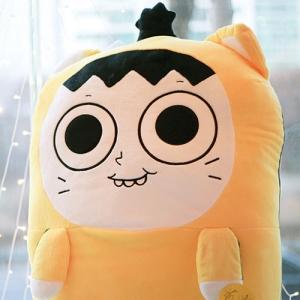 [놓지마정신줄] 웹툰 놓정 야옹신이 봉제인형 - 왕(100cm)