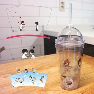 [연애혁명] 연혁 웹툰 아이스텀블러 530ml 3종 ver2